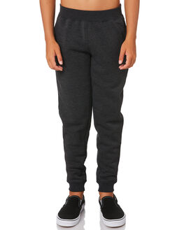 BLACK HEATHER KIDS BOYS HURLEY PANTS - AO2213032