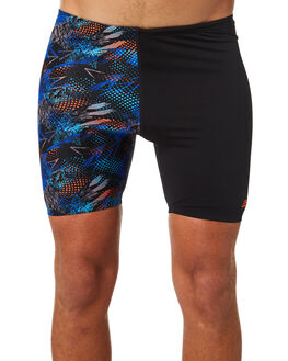 BLACK MULTI MENS CLOTHING ZOGGS SWIMWEAR - 4045181BLK