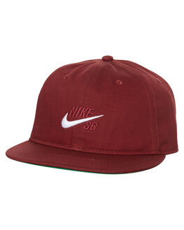 RED WHITE MENS ACCESSORIES NIKE HEADWEAR - 850816619