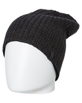 BLACK MENS ACCESSORIES RIP CURL HEADWEAR - CBNDP10090