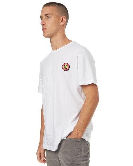 WHITE MENS CLOTHING RVCA TEES - R172050WHT