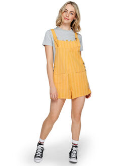ARTISAN GOLD WOMENS CLOTHING ELEMENT PLAYSUITS + OVERALLS - 293873AGLD