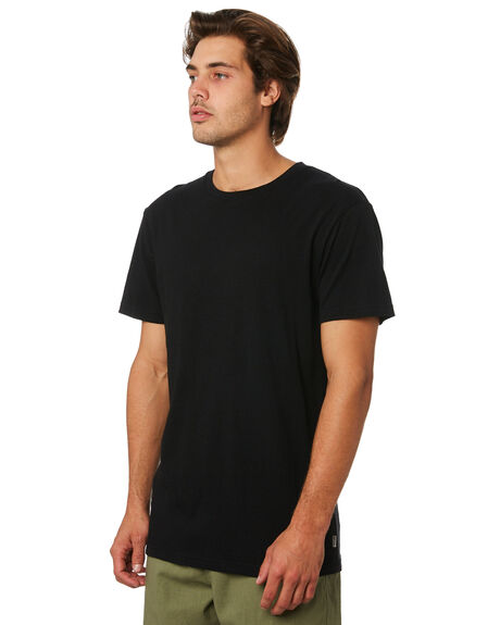 BLACK MENS CLOTHING RHYTHM TEES - JUL19M-CT03-BLK