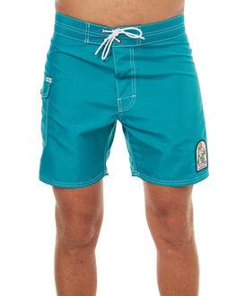 TEAL MENS CLOTHING KATIN BOARDSHORTS - TRSSWAT17TEA