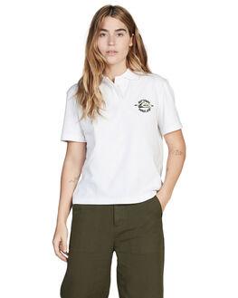 WHITE WOMENS CLOTHING QUIKSILVER FASHION TOPS - EQWKT03025-WBB0
