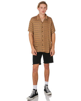 PRINT OUTLET MENS SILENT THEORY SHIRTS - 4044039YLW