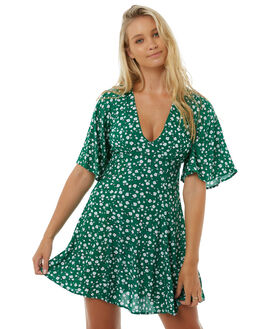 GREEN WOMENS CLOTHING MINKPINK DRESSES - MP1703457GREEN