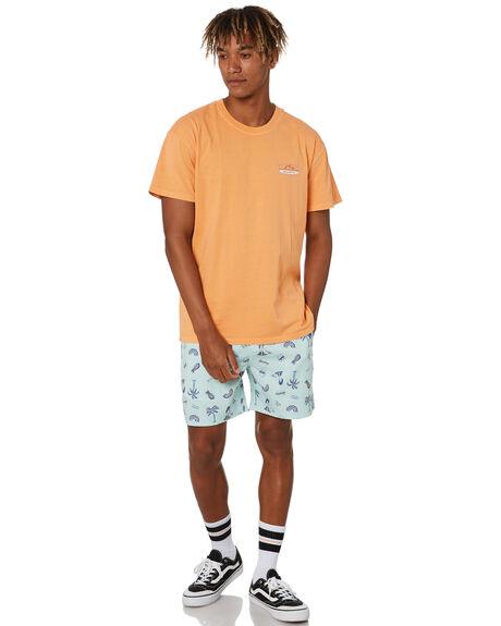 MUSK MELON MENS CLOTHING RUSTY TEES - TTM2504MML