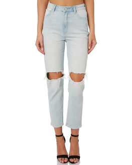 WALKIN ON WOMENS CLOTHING A.BRAND JEANS - 71317-4175