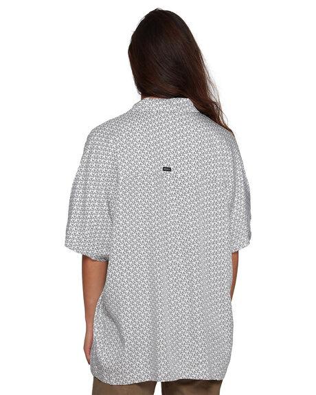 WHITE WOMENS CLOTHING RVCA FASHION TOPS - RV-R407182-WHT
