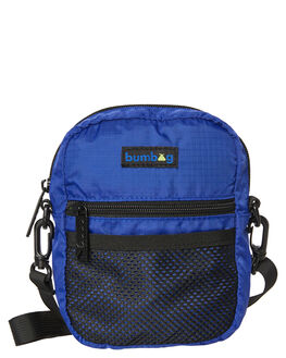 BLUE MENS ACCESSORIES THE BUMBAG CO BAGS + BACKPACKS - CB006BLU