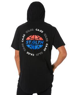 BLACK MENS CLOTHING ST GOLIATH TEES - 4320046BLK