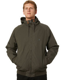 Volcom Hernan 5K Mens Jacket - Lead | SurfStitch