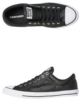 BLACK WOMENS FOOTWEAR CONVERSE SNEAKERS - SS149430BLKW