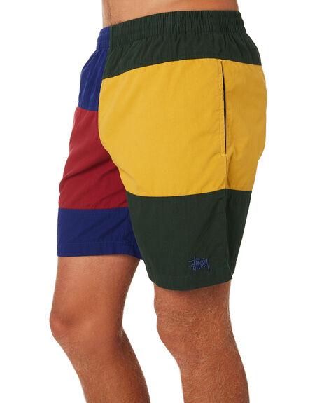 MULTI MENS CLOTHING STUSSY BOARDSHORTS - ST091608MUL