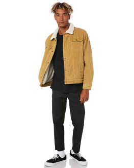 TAN MENS CLOTHING SWELL JACKETS - S5174389TAN