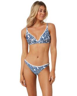 BLUE WOMENS SWIMWEAR TIGERLILY BIKINI TOPS - T392562BLU