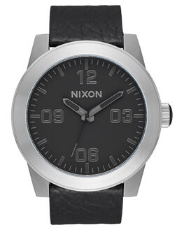 BLACK GUNMETAL BLACK MENS ACCESSORIES NIXON WATCHES - A2432788