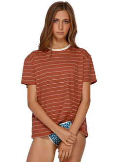 CACAO WOMENS CLOTHING BILLABONG TEES - BB-6591135-C3A
