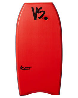 RED WHITE BOARDSPORTS SURF VS BODYBOARDS BOARDS - V19FLAME45REREDWH