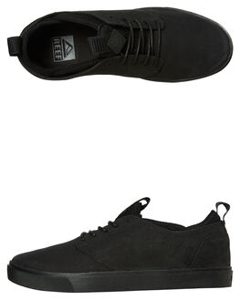 ALL BLACK MENS FOOTWEAR REEF SNEAKERS - A3OLSALB