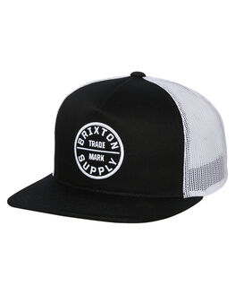 BLACK MENS ACCESSORIES BRIXTON HEADWEAR - 00958BLK