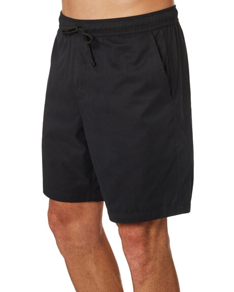 BLACK MENS CLOTHING DEPACTUS BOARDSHORTS - D5171235BLACK
