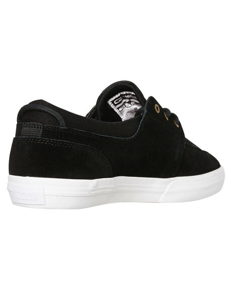 BLACK WHITE OUTLET MENS GLOBE SNEAKERS - GBATTIC10046