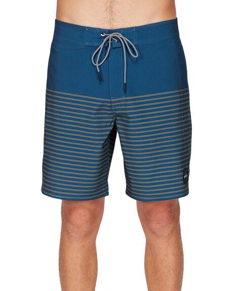 SEATLE BLUE MENS CLOTHING RVCA BOARDSHORTS - R383411SEABL