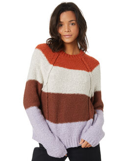 MULTI WOMENS CLOTHING ELEMENT KNITS + CARDIGANS - 296425MUL