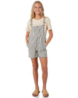 GREY STRIPE KIDS GIRLS MUNSTER KIDS DRESSES + PLAYSUITS - MM191JS05GRYST