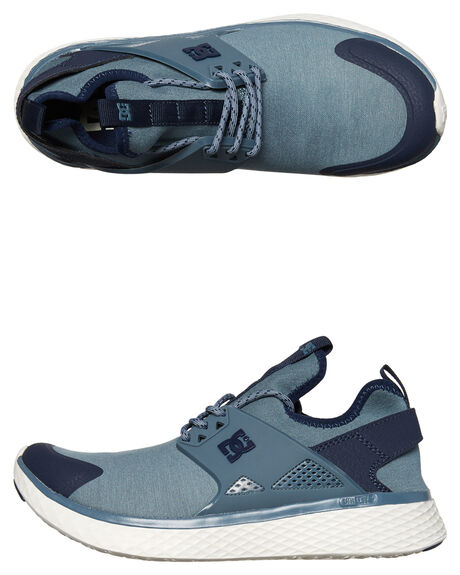 BLUE ASHES MENS FOOTWEAR DC SHOES SNEAKERS - ADYS700139BA9