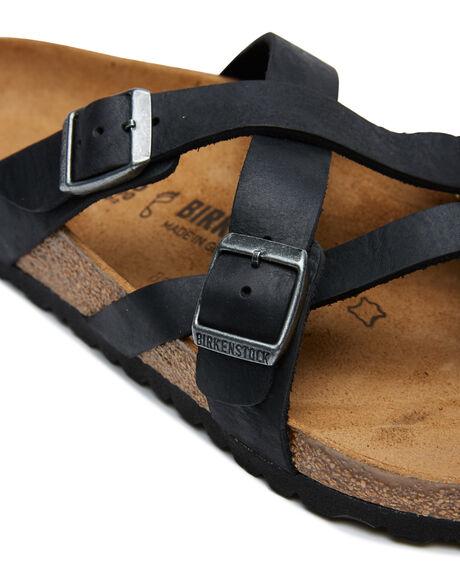 CAMBERRA  BLACK MENS FOOTWEAR BIRKENSTOCK THONGS - 1008549CBLK