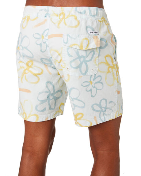 OFF WHITE MENS CLOTHING BANKS BOARDSHORTS - BSE0221OWH