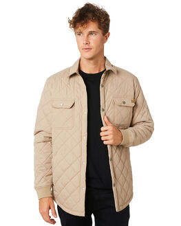 KHAKI MENS CLOTHING RIP CURL JACKETS - CJKAN70064