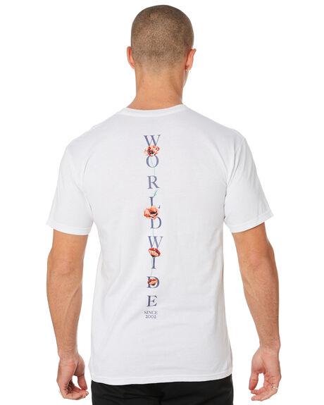 WHITE MENS CLOTHING HUF TEES - TS00723-WHT