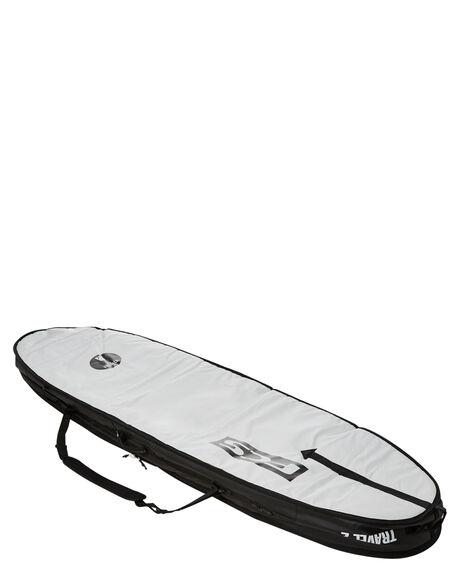 BLACK GREY BOARDSPORTS SURF FCS BOARDCOVERS - BT2-067-FB-BGYBLKGR
