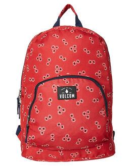 RAD RED WOMENS ACCESSORIES VOLCOM BAGS + BACKPACKS - E6531801RAD