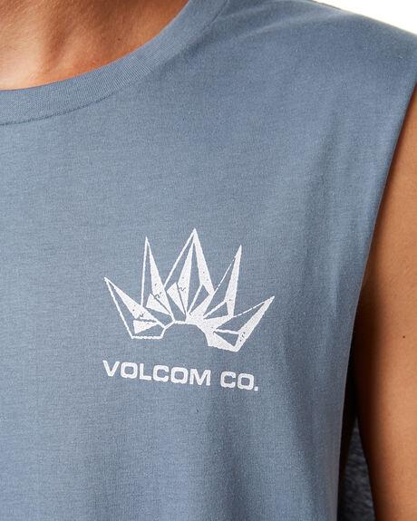 ASH MENS CLOTHING VOLCOM SINGLETS - A4501919ASH