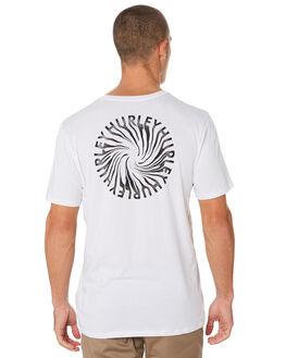 WHITE MENS CLOTHING HURLEY TEES - BQ2936100