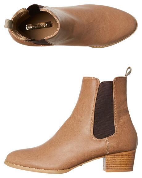 TAUPE WOMENS FOOTWEAR BILLINI BOOTS - B803TAU