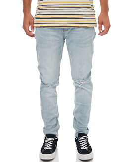 WORN BLUE MENS CLOTHING ROLLAS JEANS - 15226157