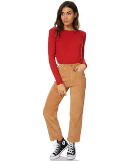 RED WOMENS CLOTHING ROLLAS TEES - 12252RED