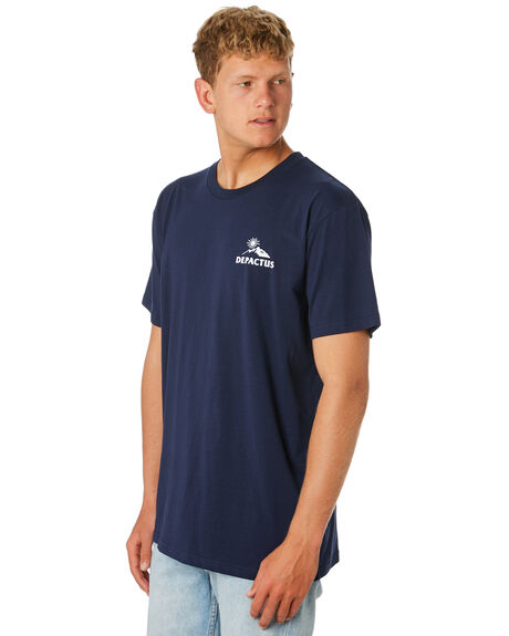 NAVY MENS CLOTHING DEPACTUS TEES - D5201008NAVY