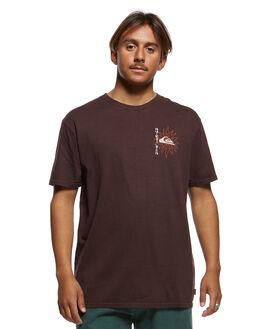 CHOCOLATE PLUM MENS CLOTHING QUIKSILVER TEES - EQYZT05465-CZH0
