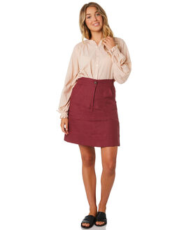 MULBERRY WOMENS CLOTHING LILYA SKIRTS - LSK22-LAW19MUL