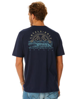 OBSIDIAN MENS CLOTHING HURLEY TEES - AO8825451