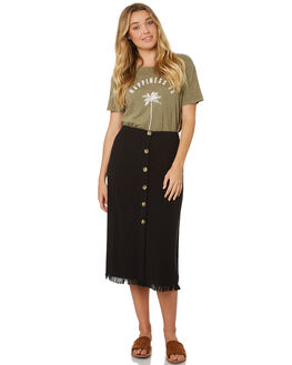 OFF BLACK WOMENS CLOTHING BILLABONG SKIRTS - 6595526OFB