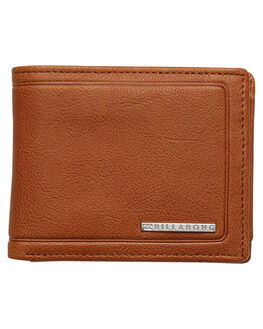TAN GRAIN MENS ACCESSORIES BILLABONG WALLETS - 9685182BTGI