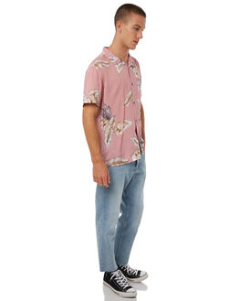 DIRTY PINK MENS CLOTHING STUSSY SHIRTS - ST085408DPINK